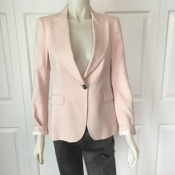 ⭐️Zara Basics light pink blazer